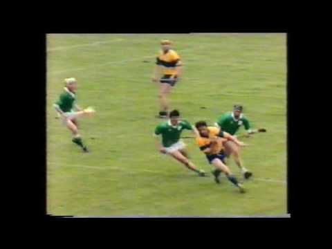 1986 Limerick vs Clare  Munster Hurling Championship
