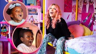 Extreme Barbie Makeover: Dream House Reveal! Mr. Kate