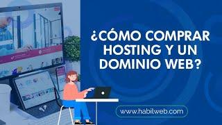 Como comprar hosting y un dominio web
