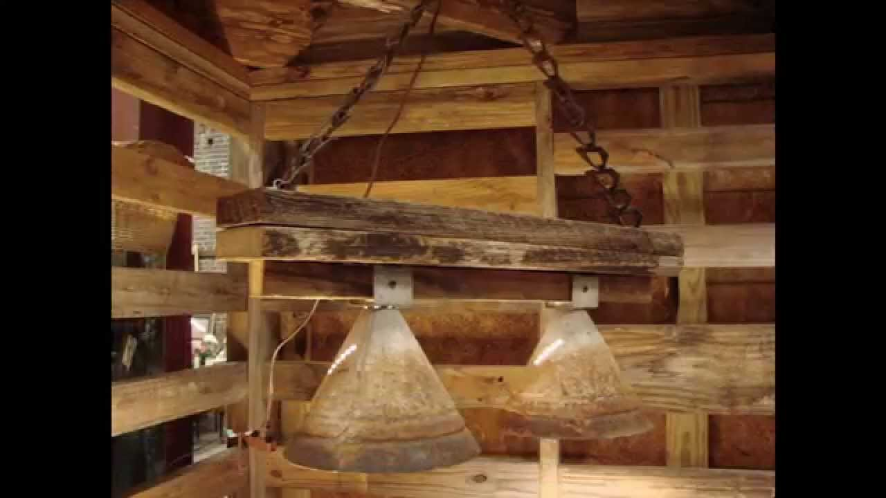 Rustic lighting design ideas - YouTube