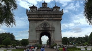 Visite touristique / Touristical visit of Vientiane (Laos)