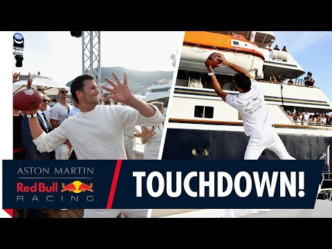 Tom Brady finds Daniel Ricciardo in the deep at the Monaco G