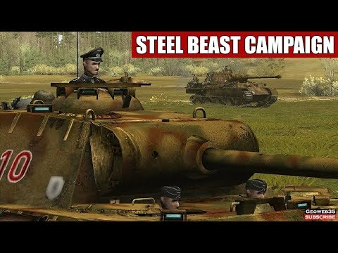 Panzer V Panther Tank Steel Beast Campaign (Compilation) WW2 Tank Simulator