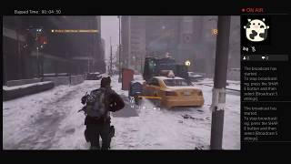 The Division, Part Twenty, PS4 Live Broadcast, No Commentary, Walkthrough