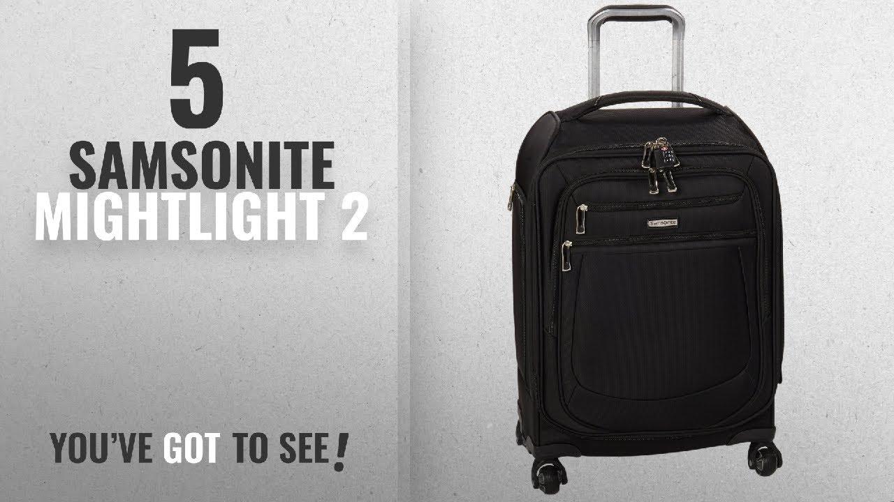 ecacf9fa1d Top 10 Samsonite Mightlight 2  2018   Samsonite Mightlight 2 Softside  Spinner 21