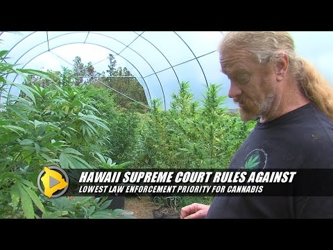Hawaii Supreme Court Rules On Marijuana Law Enforcement Law