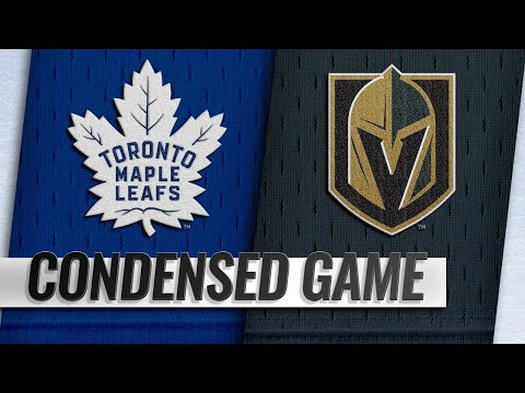 02/14/19 Condensed Game: Maple Leafs @ Golden Knights