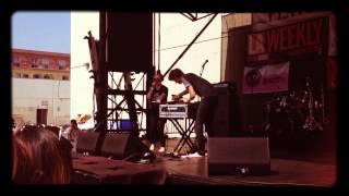 "Sylvan Esso ""Could I Be"" live Pasadena June 7, 2014"