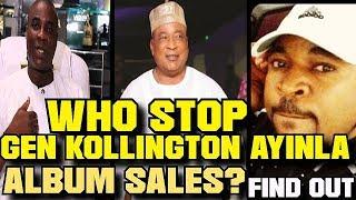 SAGA:WHO STOP Alh. Gen. Kollington Ayinla Albums Sales?Talk MC OLUOMO!