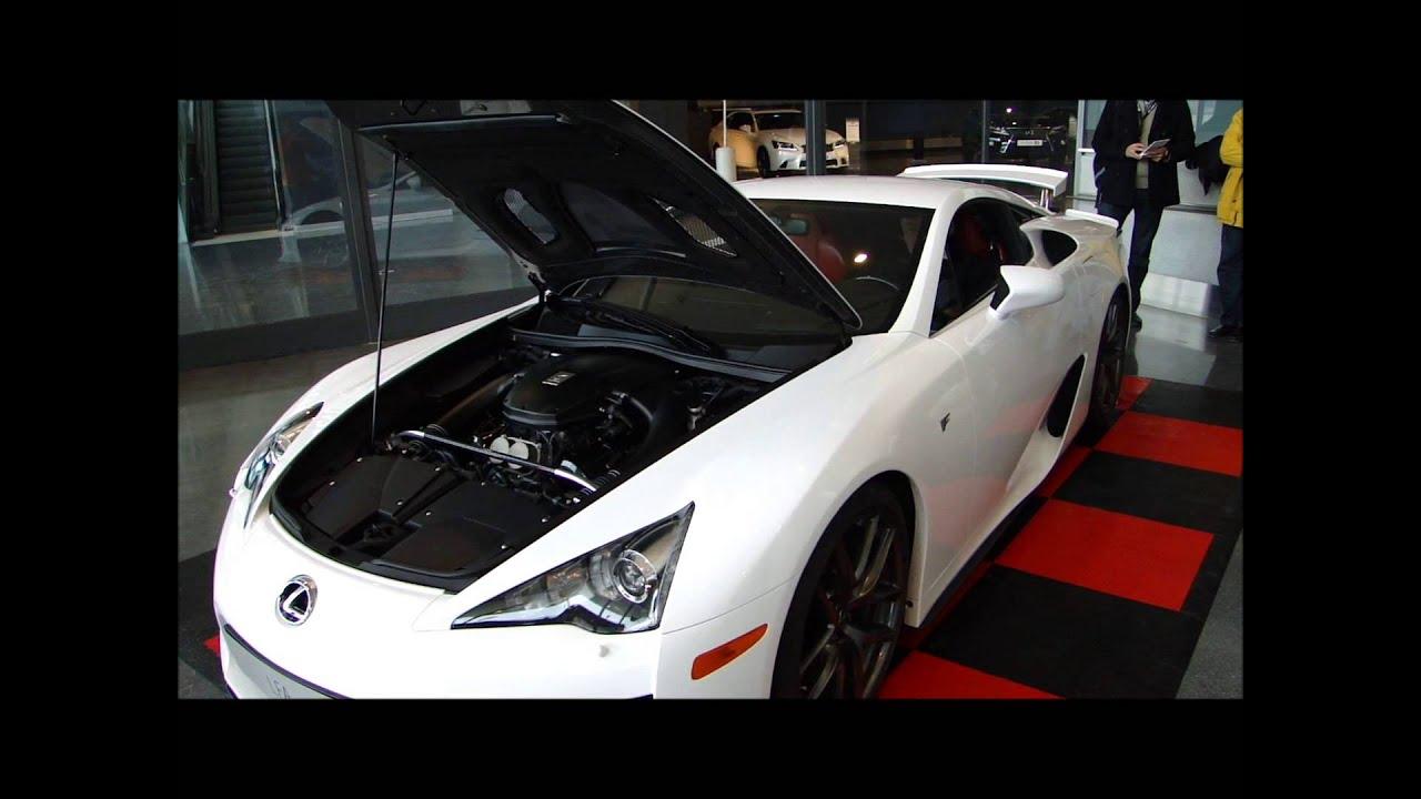 Lexus LFA. Sonido del motor - YouTube