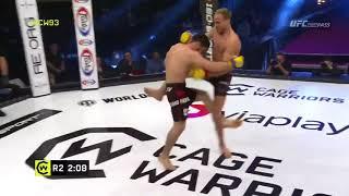 Мехди Дакаев на турнире Cage Warriors 93