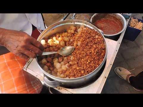Indonesia Tegal Street Food : Kojek Kacang Rasa Melayang,Balkot Lama Tegal@Rp.5000,-//209//Seri I