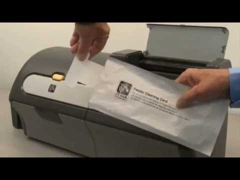 Zebra ZXP Series 7 ID Card Printer - How to Clean Your Printer