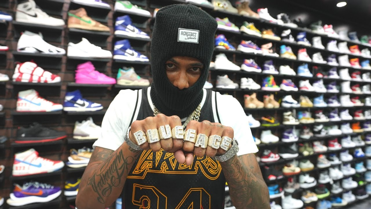 Blueface Goes Shopping For Sneakers with CoolKicks
