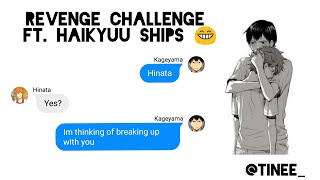 """""""Let's break up"""" Text Challenge ft. Haikyuu Ships"""