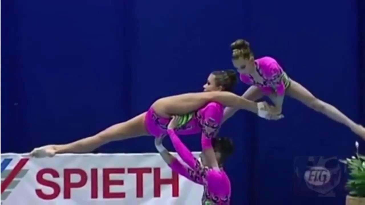 обнажённые гимнасткина соревнованиях видео