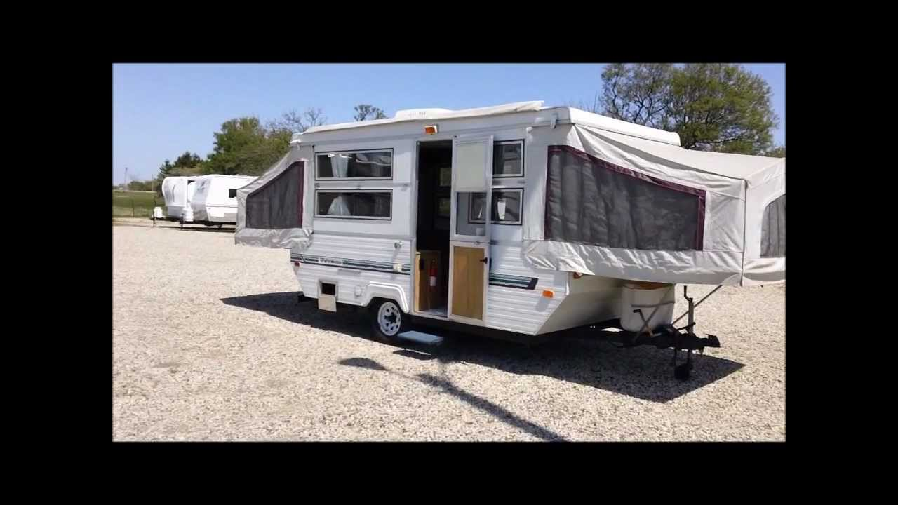 maxresdefault 1996 palomino hard sided pop up wmv youtube palomino pop up camper wiring diagram at edmiracle.co