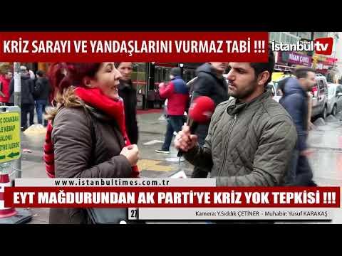 ERDOĞAN'A AÇTI AĞZINI YUMDU GÖZÜNÜ!!! (İstanbul-Bahçelievler)