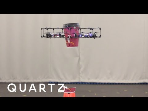 These drones can assemble themselves in midair