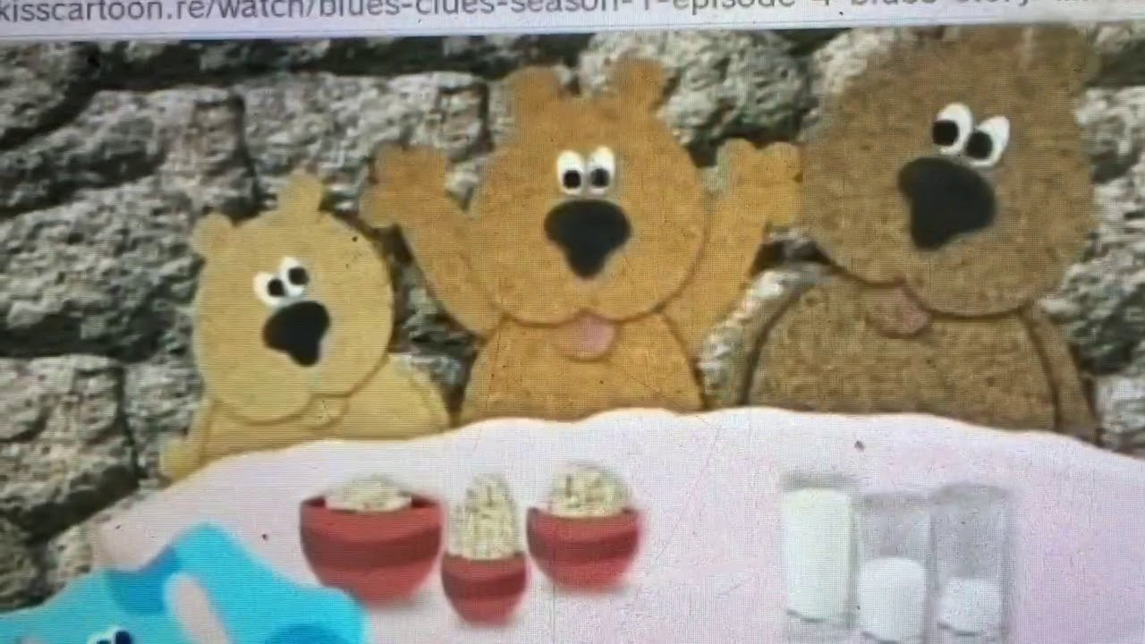 Blue S Clues Three Bears Youtube