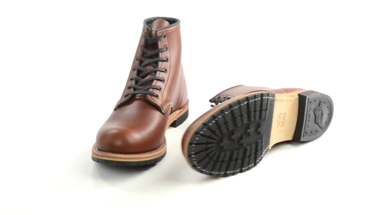 Red Wing Heritage 9016 Beckman Round Toe Botas Factory Factory Factory 2nds (For e10b1d