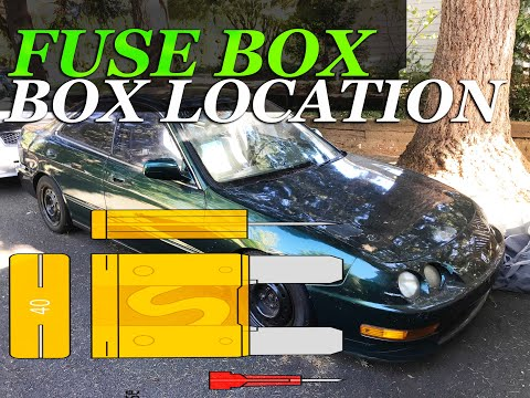 FUSE BOX LOCATION ON A 1994 - 2001 ACURA INTEGRA - YouTubeYouTube