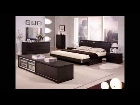 chambre coucher moderne avec berkane logement youtube. Black Bedroom Furniture Sets. Home Design Ideas