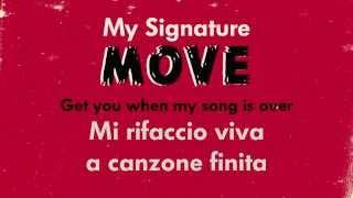 P!nk - My Signature Move (testo e traduzione)