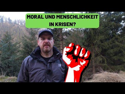 Krisen - Menschlichkeit und Moral? Was ist aus der Welt geworden?