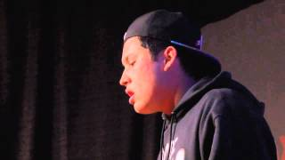 """A poem titled """"Hope"""": Mikey Frias at TEDxMonterey"""