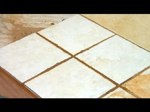 How To Repair Shower Floor Grout : Grout Maintenance