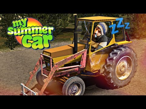 ME DUERMO MIENTRAS CONDUZCO ⭐️ My Summer Car #3 | iTownGamePlay