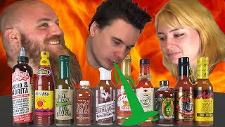 Hot Ones Season 5 Sauce Test