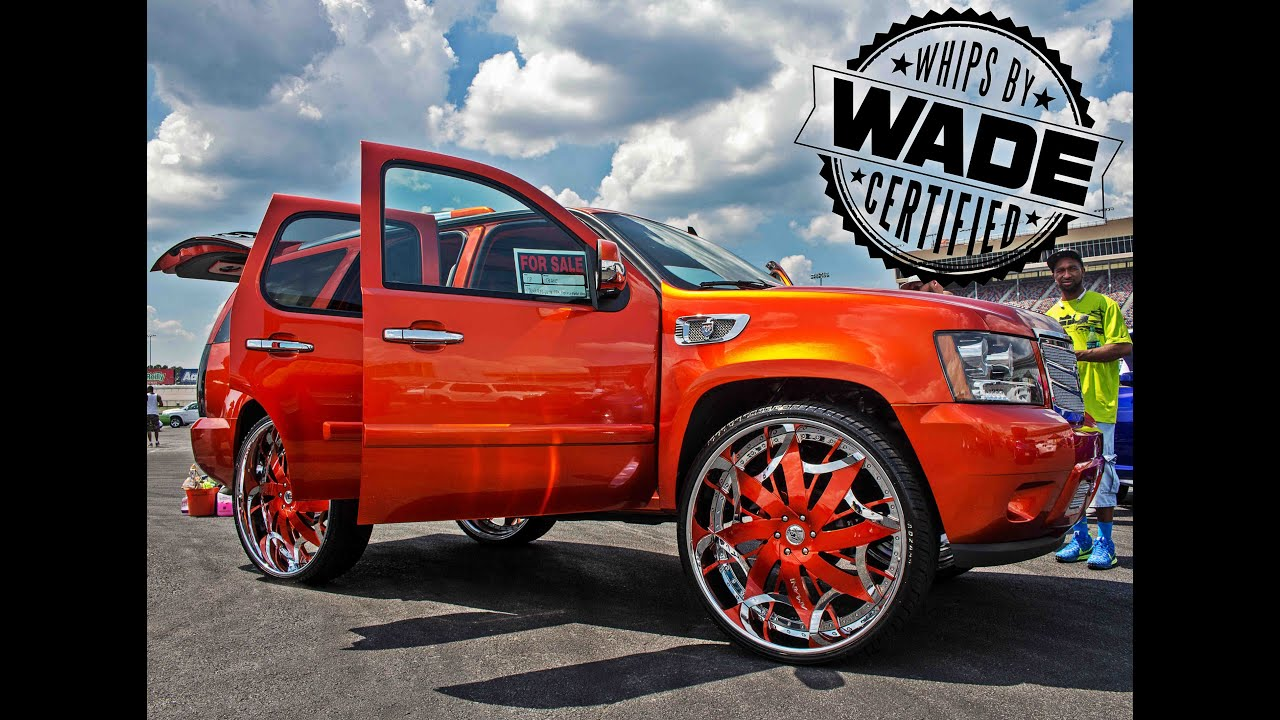 King Of The South 2015 Candy Orange Tahoe On 32 Quot Wheels