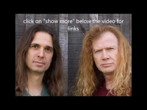 Megadeth to start new album in 2017 - River Black new song Jaws debuts...!