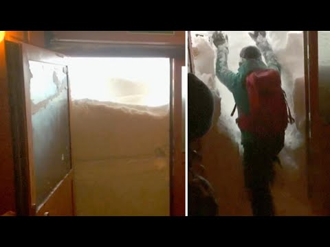 6-Foot Snowdrifts Trap Polish Researchers