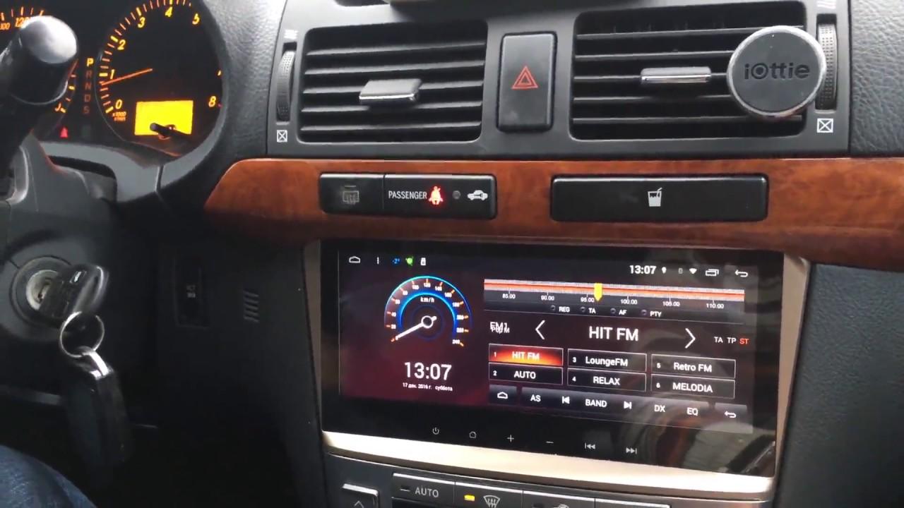 8 8 android autoradio headunit head unit stereo car multimedia gps toyota avensis 2003 2008