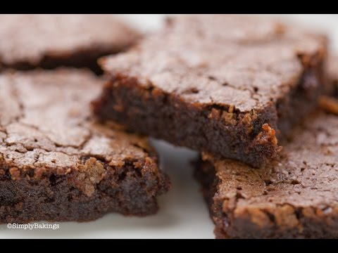 BEST And EASIEST Chewy Brownies | Simply Bakings