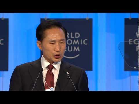 Davos Annual Meeting 2010 - Lee Myung-Bak, President of the Republic of Korea