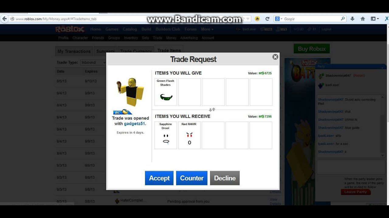 Free trading bot for roblox