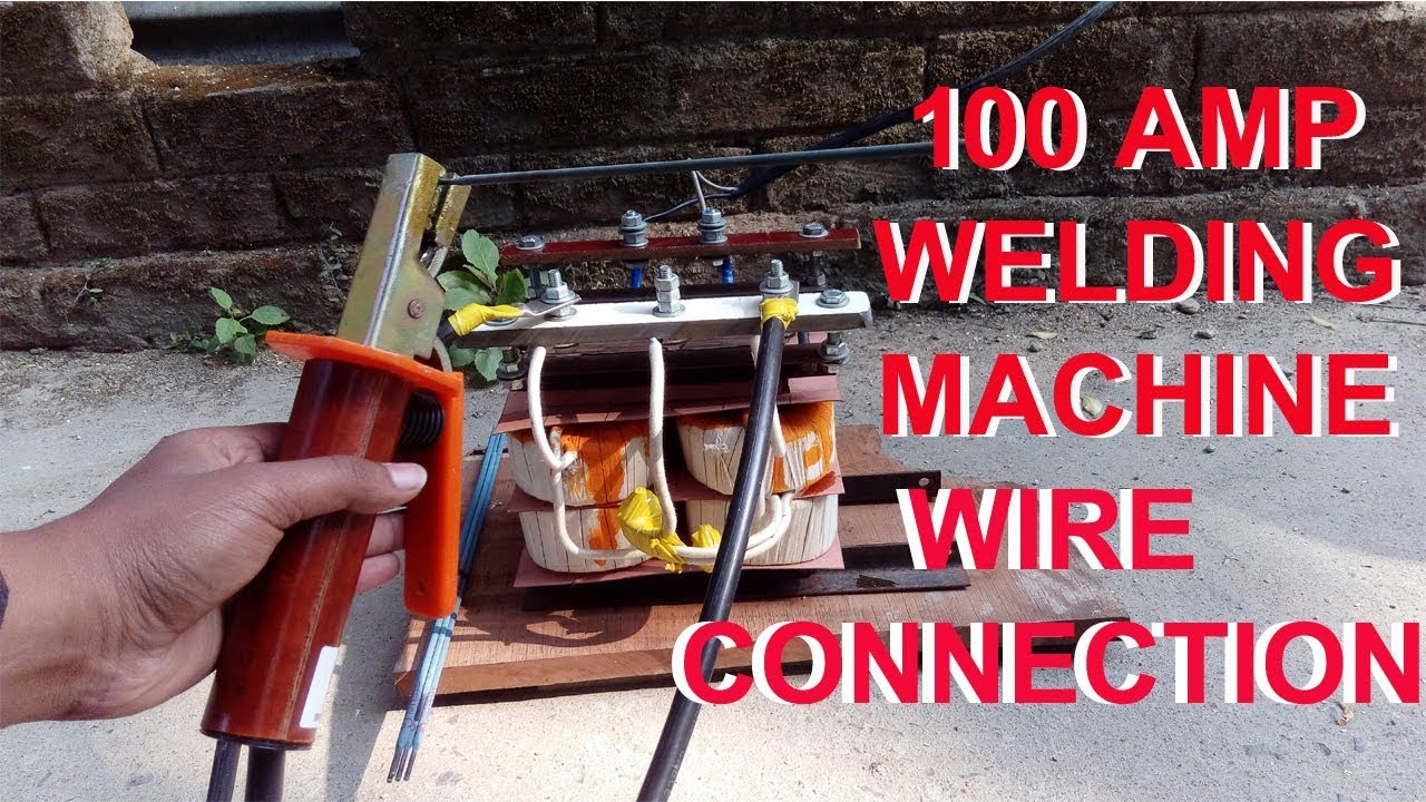 hight resolution of wire connection of welding machine