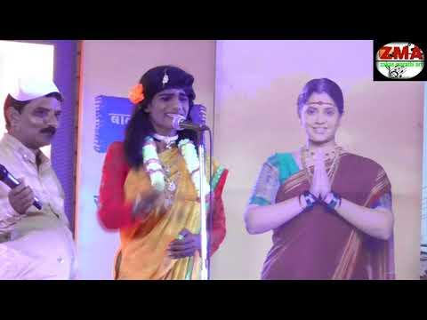 दारुडा नवरा आणि तरणी बायकोचा कॉमेडी भाडन  सोंगी भारुड marathi comedy bharud