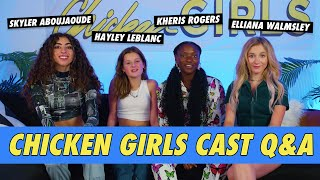 Chicken Girls Season 7 Cast Interview