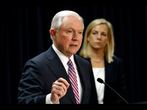BREAKING: Jeff Sessions & Secretary of DHS Kristjen Nielson give URGENT Speech on Sanctuary Cities