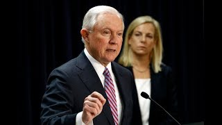 BREAKING: Jeff Sessions & Secretary of DHS Kristjen Nielson give URGENT Speech on Sanctuary Cities Free HD Video