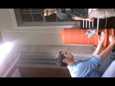 JHU Power-Beaming Robotics: First Vertical Climb