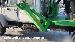 видео Продажа автовышек на шасси Hyundai HD-78 АГП-20Т. завод спецтехники НижСпецАвто