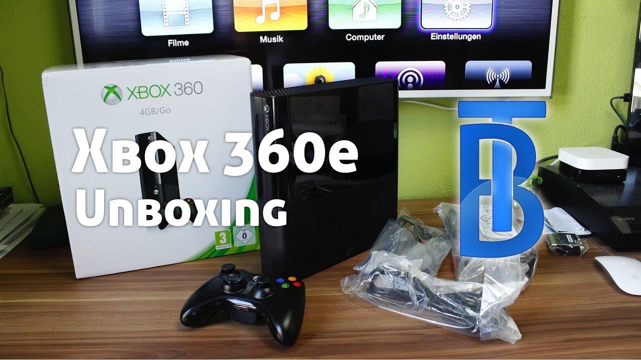 Unboxing Xbox E BlackSchwarz GermanDeutsch YouTube - Minecraft spieletipps xbox 360