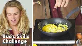 50 People Try to Make Scrambled Eggs | Basic Skills Challenge | Epicurious thumbnail