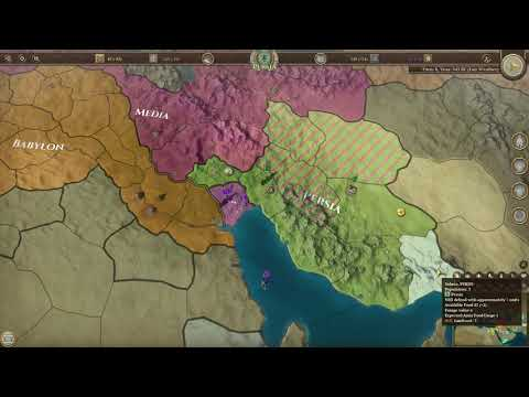 Field of Glory Empires Persia 550 330 BCE Gameplay (PC Game) |